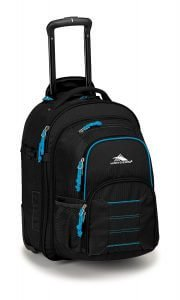 High Sierra Ultimate Access Carry-on Wheeled Backpack